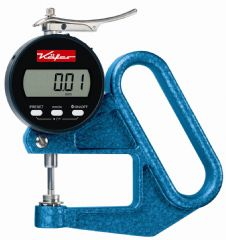 KAFER Digital Thickness Gauge JD 50 TOP with Lifting Device - Reading: 0.01 mm